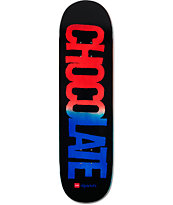 "Chocolate Berle League Fade 8.5"" Skateboard Deck"