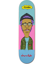 "Chocolate Jer & MJ 8.0"" Skateboard Deck"