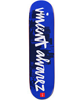Chocolate Vincent Alvarez Chunk City 8.25 Skateboard Deck