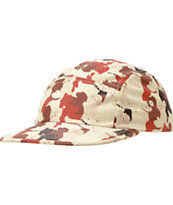 Chuck Originals Doggy Camo Brown Camper 5 Panel Hat