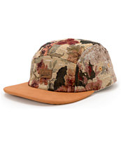 Chuck Originals Girls Tapestry Tan 5 Panel Hat