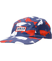 Chuck Originals Murica Whale Navy 5 Panel Hat