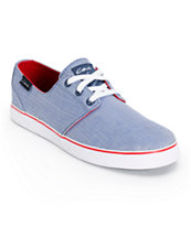 Circa Crip Blue Herringbone Skate Shoes