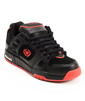 Circa Shifter Black & Red Skate Shoe
