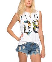 Civil 08 Haze Fill Muscle T-Shirt