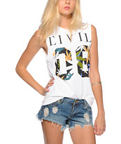 Civil 08 Haze Fill Muscle Tee