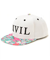 Civil Jackson Splatter Bill Snapback Hat