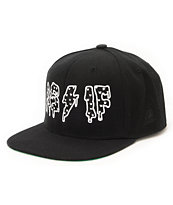 Civil Women's Been As If Black Snapback Hat
