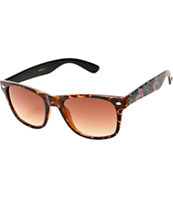 Classic Shelby 2 Tortoise Shell & Floral Sunglasses