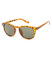 Classic Tortoise Rounded Sunglasses