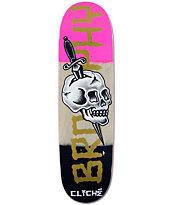 """Cliche Brophy Dressen Skull 8.625"""" Skateboard Deck"""