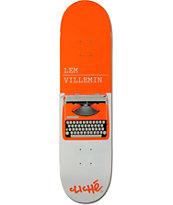 """Cliche Lem Typewriter 8.0"""" Skateboard Deck"""