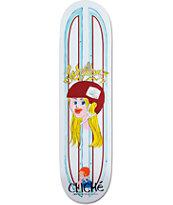 "Cliche Villimen Glitter Ink 8.0"" Skateboard Deck"