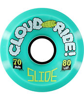 Cloud Ride Slide 70mm 83a Longboard Wheels
