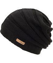 Coal Cameron Girls Black Beanie