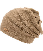 Coal Cameron Girls Khaki Beanie