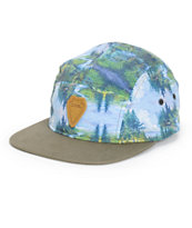 Coal Cascade 5 Panel Hat