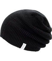 Coal Frena Black Slouch Beanie
