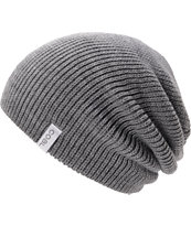 Coal Frena Solid Heather Grey Beanie