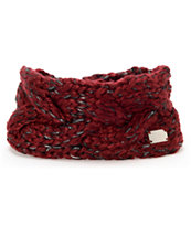 Coal Girls Greer Burgundy Headband