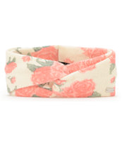 Coal Girls Josie Creme Floral Headband