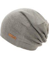 Coal Girls Julietta Charcoal Grey Slouch Beanie