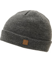 Coal Harbor Charcoal Fold Beanie