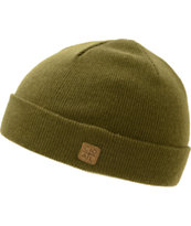 Coal Harbor Olive Fold Beanie