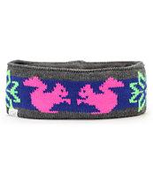 Coal Heidi Neon Pink Headband