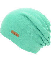 Coal Julietta Mint Green Slouch Beanie