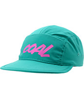 Coal Marty Turquoise 5 Panel  Hat