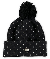 Coal Millie Polka Dot Pom Beanie