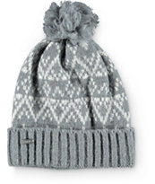 Coal Olive Heather Grey Beanie