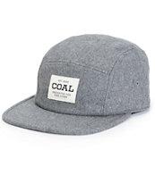 Coal Richmond Flannel 5 Panel Hat