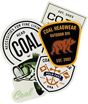 Coal Sticker Pack 1