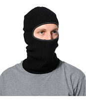 Coal Technical NWA Black Knit Balaclava Facemask