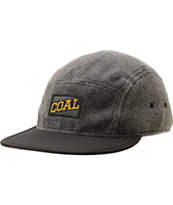 Coal The Canyon Charcoal 5 Panel Hat