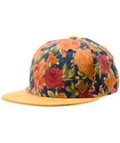 Coal The Leroy Navy Floral Snapback Hat