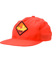 Coal The Paradise Red Snapback Hat