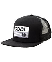 Coal The Transit Black Trucker Hat