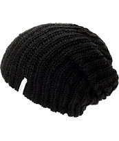 Coal Thrift Black Knit Beanie