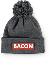 Coal Vice Bacon Pom Beanie