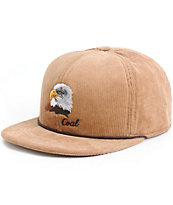 Coal Wilderness Eagle Snapback Hat