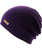 Coal Women's Julietta Purple Slouch Beanie