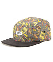Coal the Snack Attack 5 Panel Hat