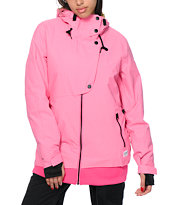 Colour Wear Poise Shock Pink 10K Snowboard Jacket