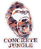 Concrete Jungle Camo Gorilla Teeth Sticker