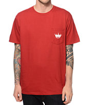 Concrete Jungle Crown Pocket T-Shirt