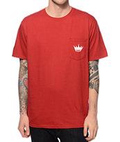 Concrete Jungle Crown Pocket T-Shirt