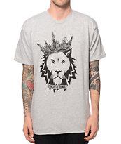 Concrete Jungle Lion Paisley Crown T-Shirt